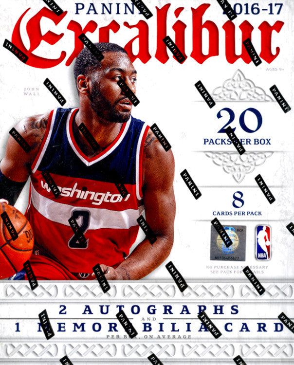 2016/17 Panini Excalibur Basketball ($499 per team, all teams in) ID EXCALIBURBSKTBLL102