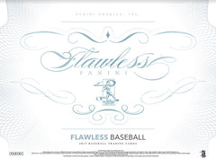 PICK YOUR TEAM BREAK 2017 Panini Flawless Baseball Hobby Box ID PANFLAWBB153