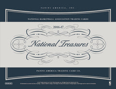 MAY RELEASE: EVERYBODY GETS A CARD: 2016/17 Panini National Treasures Basketball ($77.99 per card, 9 total cards) ID 1617NTBSKTBLL101