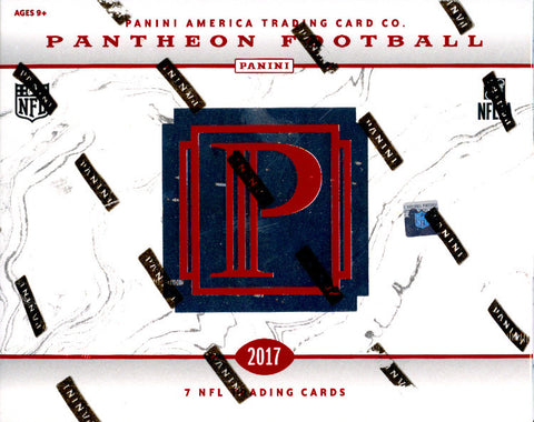 PICK YOUR TEAM: 2017 Panini Pantheon Football ID 17PANTHEONOCT101