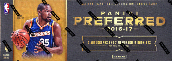 PICK YOUR TEAM: 2016/17 Panini Preferred Basketball Hobby  ID 17PREFERREDBSK102