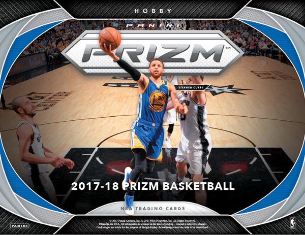 2017/18 Panini Prizm Basketball Hobby Box All Teams In All Cards Ship ID 17PRIZBB931