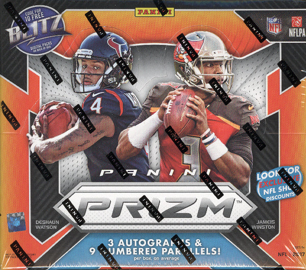 COMING SOON: 2017 Panini Prizm Football ($5.75 PER TEAM, all teams in, all cards ship) ID 17PRIZMFB105
