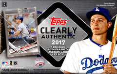 2017 Topps Clearly Authentic Baseball ($4.99 PER TEAM, only 24 spots) ID CLEARLY122
