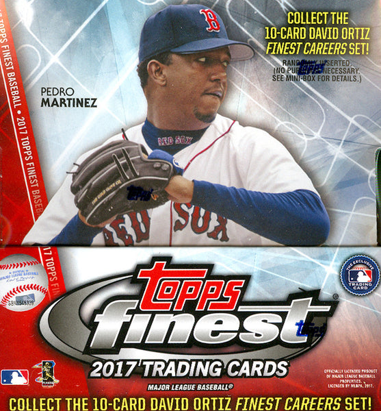 2017 Topps Finest Baseball ALL CARDS SHIP ($9.25 PER TEAM, 25 SPOTS) ID 17FINESTAUG103