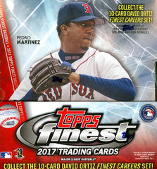 COMING SOON 2017 Topps Finest Baseball ALL CARDS SHIP ($9.25 PER TEAM, 25 SPOTS) ID 17FINESTAUG103