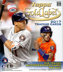 Tomorrow: 2017 Topps Gold Label Baseball ($3.99 per team, 25 spots) ID 17GLBASEBALL915