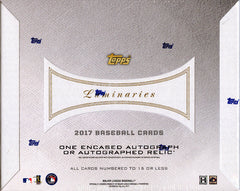 PICK YOUR TEAM: 2017 Topps Luminaries Baseball ID LUMINARIES728