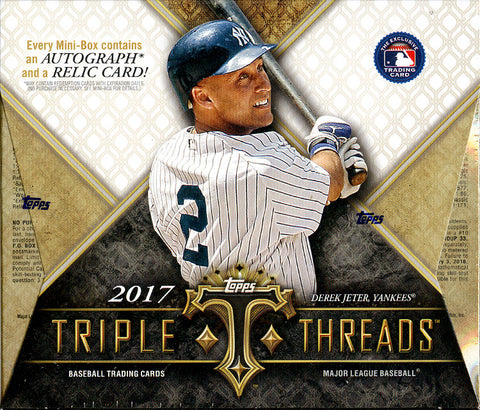 Pick Your Team: 2017 Topps Triple Threads Baseball ID 17TTT181