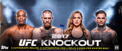 2017 Topps UFC Knockout ($10.50 PER LAST NAME LETTER, all cards ship, 17 SPOTS) ID 17KNOCKOUT106