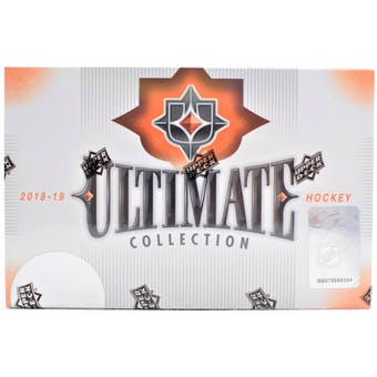 2018_19 Upper Deck Ultimate Collection Hockey Hobby Box ID 19UDCOLLECTIONHOCK103