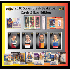 2018 Super Break Cards & Bars Basketball Box All Teams In ID SBCRADBAR101