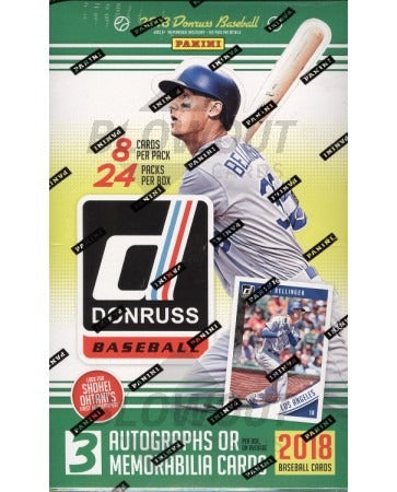 2018 Donruss Baseball ALL CARDS SHIP ($5.50 per team, all teams in) ID 18DnrssBB115
