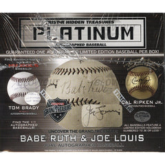 2018 Tristar Autographed Baseball Platinum Edition Box (8.99 per Last Name Letter, 19 Spots) ID 18PLATBALL132