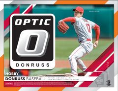 2019 Panini Donruss Optic Baseball Hobby Box (BLUE JAYS AND YANKEES RANDOM BONUS) ID PANDONOPTBBPYT109