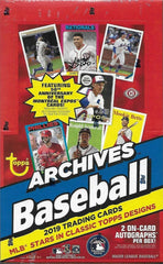 INSTANT PACK RIP: PICK YOUR OWN PACK NUMBER 2019 Topps Archives Baseball Hobby Box ID 19ARCHPACKS103