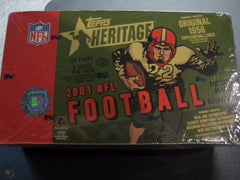 Chase Drew Brees RC: 2001 Topps Heritage Football ID 01HERITAGE101