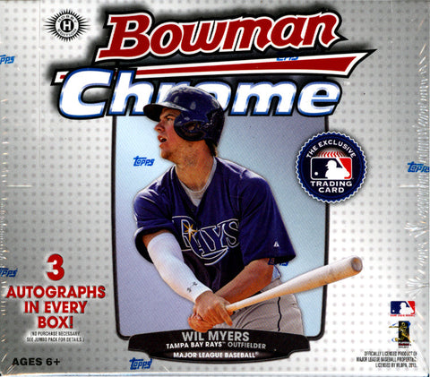 2013 Bowman Chrome Baseball JUMBO HTA box ($11.99 per team, all teams in) ID 13BOWCHROME102