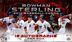 18 AUTOGRAPHS: 2014 Bowman Sterling Baseball (17.99 per team) 26 Total Spots with 2 Combos 18 AUTOGRAPHS ID 14STERLINGBANGER202