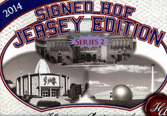 2014 Historic Autographs HOF Jersey Ed Series 2 ($13.75 per spot) 14 total spots box ID 14HAS2131