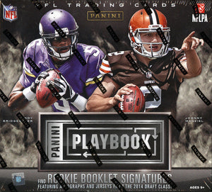 HUGE ROOKE CLASS 2 RANDOM TEAMS: 2014 Panini Playbook Football ID 14PLAYBOOKFB233