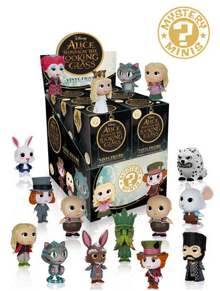 COMING SOON 2016 Funko Alice Through The Looking Glass Mystery Mini  ($1.75 per character, 12 total spots) ID ALICE102