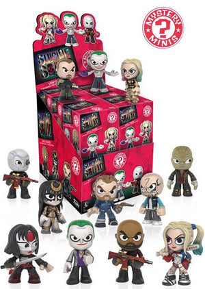 Funko Suicide Squad Mystery Minis Mystery Pack ($1.99 per checklist character, 12 spots, gamestop version) ID FUNKOSQUAD116