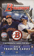 COMING SOON: 2016 Bowman Baseball Jumbo (HTA) 29 Total Spots (11.25 Per Team) ID 16BOWAUG203