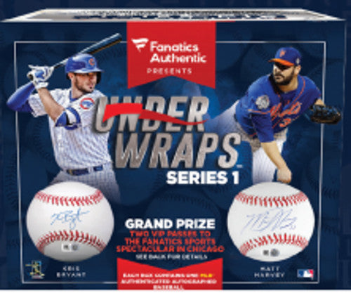 2016 Fanatics Under Wraps Autographed Baseball ($6.99 For 8 checklist players, 18 total spots) ID JUNEFANATICSBALL220
