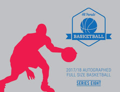 PICK YOUR TEAM: 3 BASKETBALL BREAK 2017/18 Hit Parade Autographed Full Size Basketball Hobby Box - Series 8 - Lonzo Ball & Karl-Anthony Towns! ID HPBKB3BBPYT101