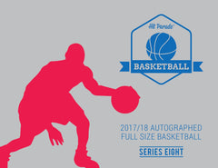 PRIZE WHEEL BREAK: 2017/18 Hit Parade Autographed Full Size Basketball Hobby Box - Series 8 - Lonzo Ball & Karl-Anthony Towns! ID 8HPFULLBSKT214