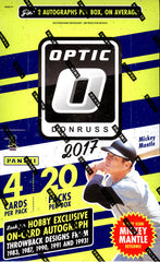2017 Optic Baseball ALL CARDS SHIP ($7.25 per team, 27 total spots) ID 17OPTICBB119