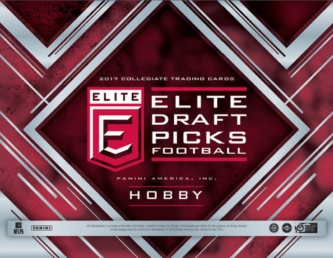 2017 Panini Elite Draft Picks Football ($6.99 per 10 checklist names, 21 spots, 210 name checklist) ID ELITEDRAFT243