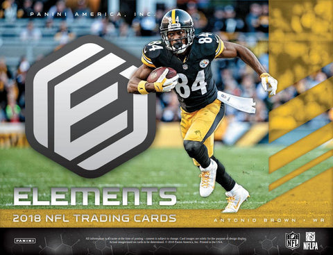 PICK YOUR TEAM: 2018 Panini Elements Football Hobby Box ID 18ELEMENFBPYT132