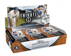 PICK YOUR TEAM: 2018 Topps Tribute Baseball Hobby Box BREAK ID 18TRIBUBBPYT108