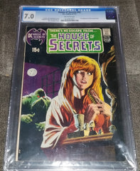 Comic Book: House of Secrets #92 CGC graded 7.0 ID HOS92101