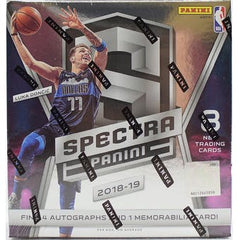 LOOSE BOX RANDOM DIVISION BREAK: 2018/19 Panini Spectra Basketball Hobby Box ID RNDMDIVSPECTRA104