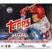 3 Box Half Case Break: 2018 Topps Series 1 Baseball Jumbo 6 Silver Pack Random ($16.99 PER TEAM, ALL CARDS SHIP) ID 18TOPPSJUMBO102