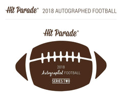 PICK YOUR TEAM: 3 FOOTBALL BREAK: 2018 Hit Parade Autographed Full Size Football Hobby Box - Series 2 - Aaron Rodgers & Brett Favre DUAL SIGNED! ID HPFB3BPYT104