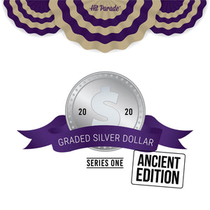 2020 Hit Parade Graded Silver Dollar Ancient Edition - Series 1 - Hobby Box - Graded Coins ID HPANCCOIN104