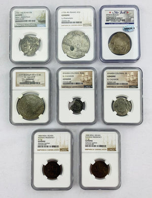 2019 Hit Parade Graded Silver Dollar Shipwreck Edition Series 1 Graded NGC and PCGS Coins ID SHIPWRECK303