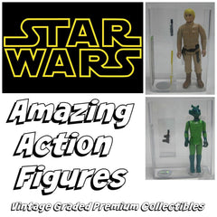 Amazing Action Figures Star Wars Series 1 ($12.99 per checklist character, 21 total characters)  ID SWAMAZINGACTION306