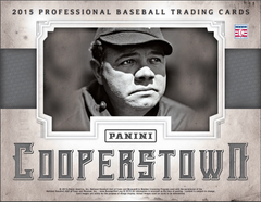 LOADED PRODUCT SUPER NEW FORMAT PICK YOUR TEAM: 2015 Panini Cooperstown Baseball Hobby Box ID 15COPPBPYT502