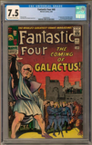 2018 Hit Parade Fantastic Four Graded Comic Edition Hobby Box - Series 1 - 1st Silver Surfer ID HPFANFOUR228