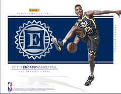 Loose Box 2017/18 Panini Encased Basketball Hobby Box Random Teams ID 18PANENCBBALL100