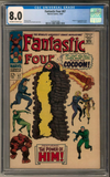 BONUS PRIZE WHEEL SPIN: 2018 Hit Parade Fantastic Four Graded Comic Edition Hobby Box - Series 1 - 1st Silver Surfer ID HPFANFOUR214