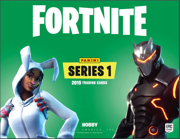 EVERYBODY GETS A PACK: 2019 Panini Fortnite Series 1 Trading Cards Box ID FORTNITE106