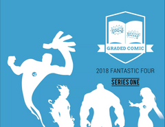2018 Hit Parade Fantastic Four Graded Comic Edition Hobby Box - Series 1 - 1st Silver Surfer ID HPFANFOUR260