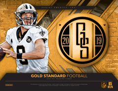 PICK YOUR TEAM: 2019 Panini Gold Standard Football Hobby Box (CARDINALS RANDOM BONUS) ID 19GSFOBPYT117