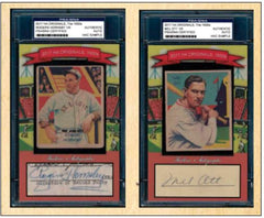 2017 Historic Autographs Originals The 1930's Series 1 ($9.99 PER 6 checklist players 20 Total Spots) ID HA1930S1107